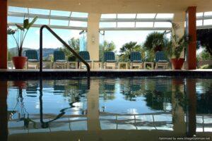 blackmountain resort spar view